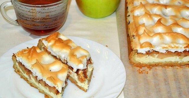 Niemieckie kruche ciasto jabłkowe