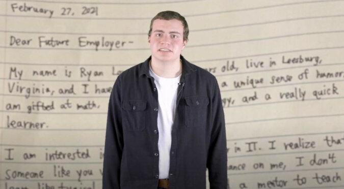 Chłopak napisał ręcznie swoje CV i został zaproszony do Microsoft