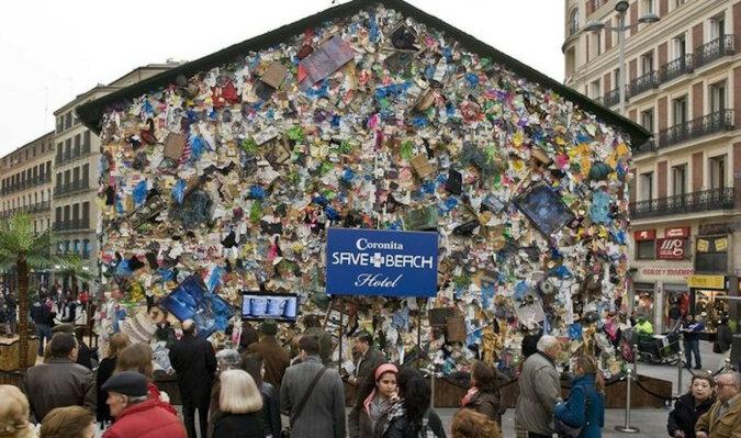 Dlaczego kilka lat temu w Madrycie zbudowano hotel ze śmieci?
