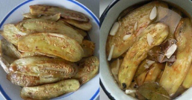 Bakłażany, jak się je gotuje w Grecji. Można zjeść na obiad, a nawet pozostawić na zimę