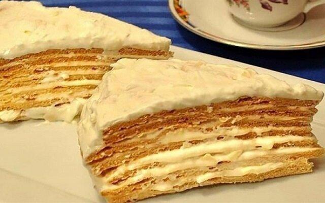 """Tort """"Paryski koktajl"""". Niesamowicie smaczny deser"""