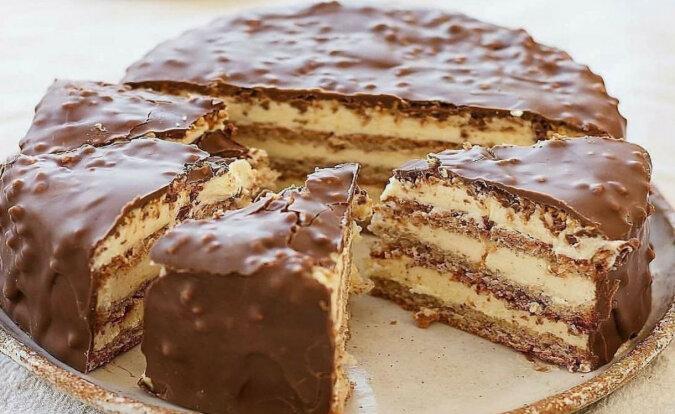 """Wspaniały tort """"Marzenie życia"""". Szybko i pysznie"""