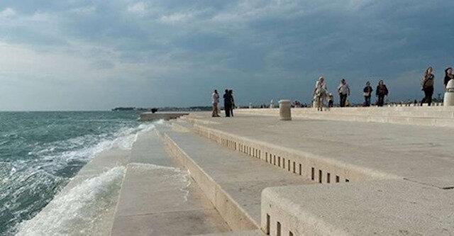 W Chorwacji zbudowano 80-metrowe organy, na których gra morze i wiatr