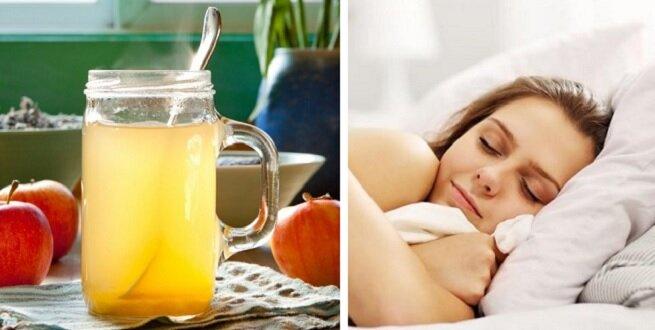 Wypij przed snem ocet jabłkowy wymieszany z miodem. Zobacz dlaczego