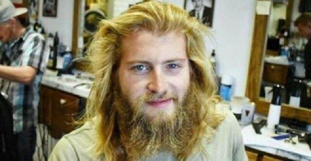 Mężczyzna chciał tylko trochę przyciąć brodę, ale fryzjer zrobił to po swojemu