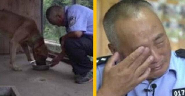 Emerytowany policjant wydał swoje oszczędności, aby zapewnić swoim podopiecznym szczęśliwą starość