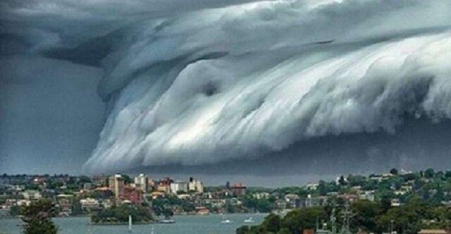 W Australii pojawiły się niezwykłe chmury