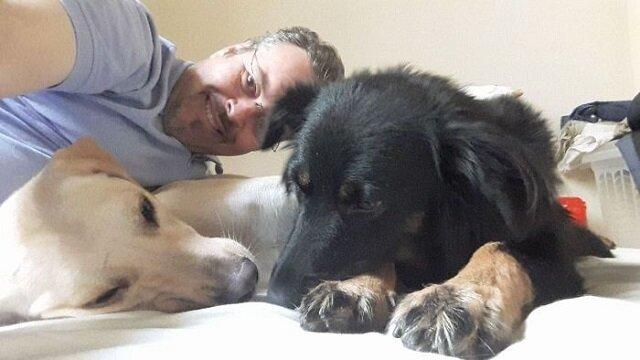 Brazylijski pasterz znajduje nowy dom dla bezdomnych psów podczas nabożeństwa