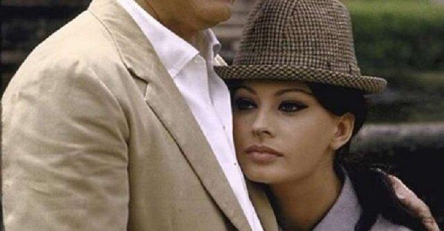 Kilka unikatowych fotografii z archiwum: Sophia Loren z mężem w willi. Zachwycająca kobieta
