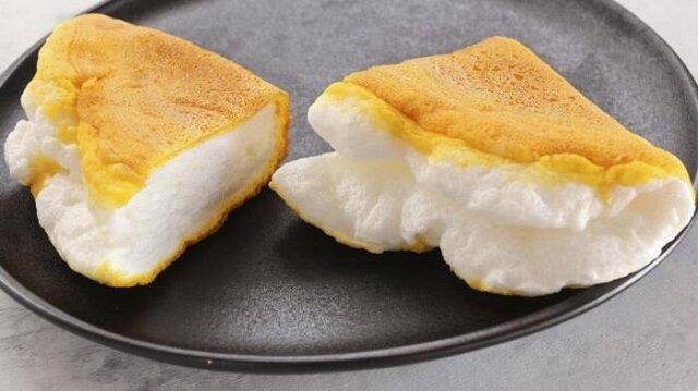 Lekki i zdrowy omlet. Delikatny i przewiewny jak chmura