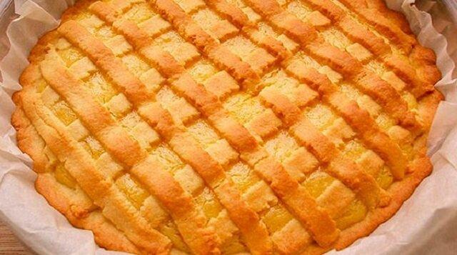 Kruche ciasto cytrynowe: smaczne, pyszne i bardzo aromatyczne