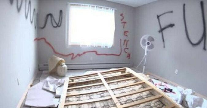 Rodzina wyremontowała mieszkanie w zaledwie 58 minut. Wszystko jest możliwe