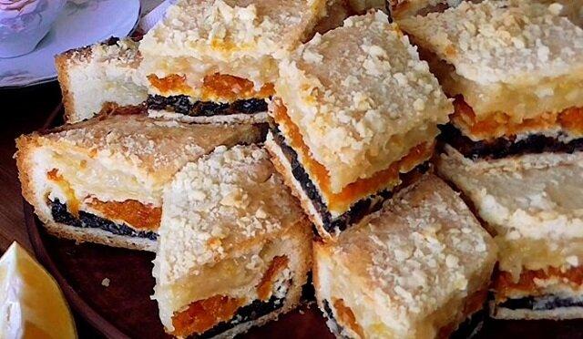 Przepis na pieczenie trójwarstwowego ciasta